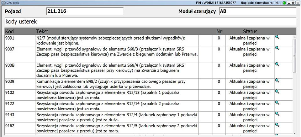 Blog - Mercedes SRS warning, how to diagnose SRS system BLSHOP