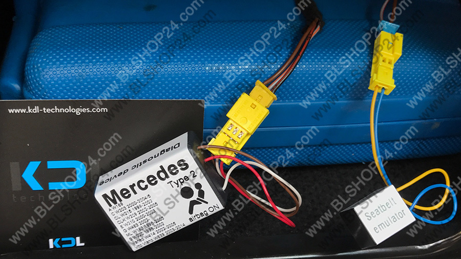 Blog - Installation instructions for Mercedes BLSHOP Automotive