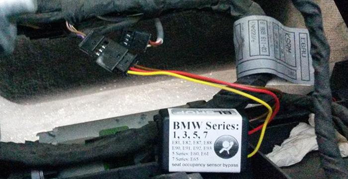 Sensore Passeggero Tappetino Adatto Bmw 3 Serie E90 E91