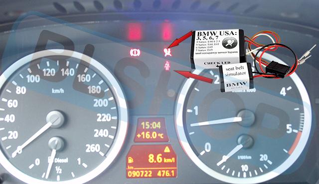 For Bmw 7 Series E65 Seat Occupancy Sensor Bypass Mat